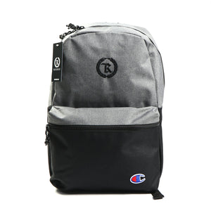Represent X Champion Monogram Backpack [GRAY X BLACK]