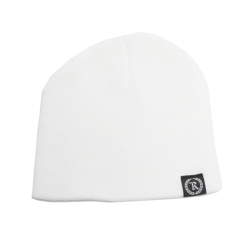 Represent Ltd.™ Woven Label Beanie [WHITE]