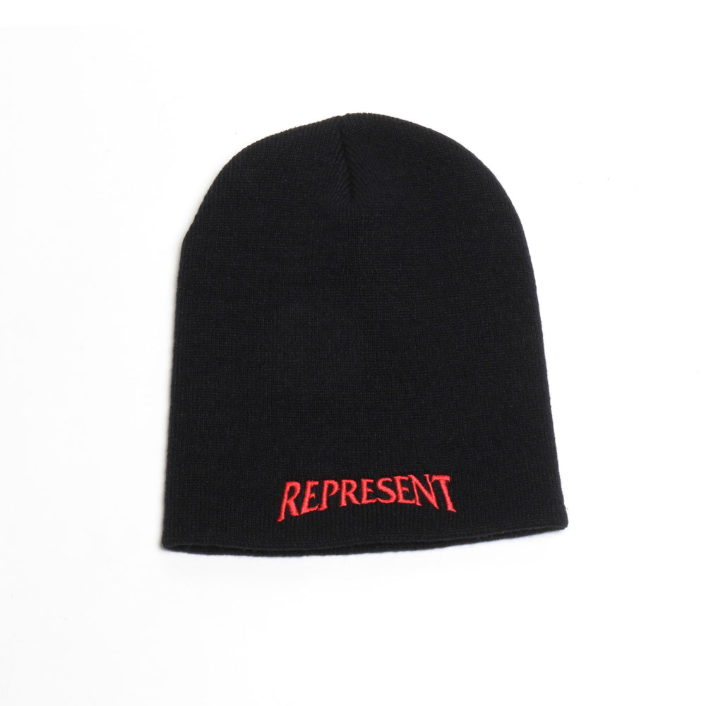 Navigate Embroidered Beanie [BLACK]