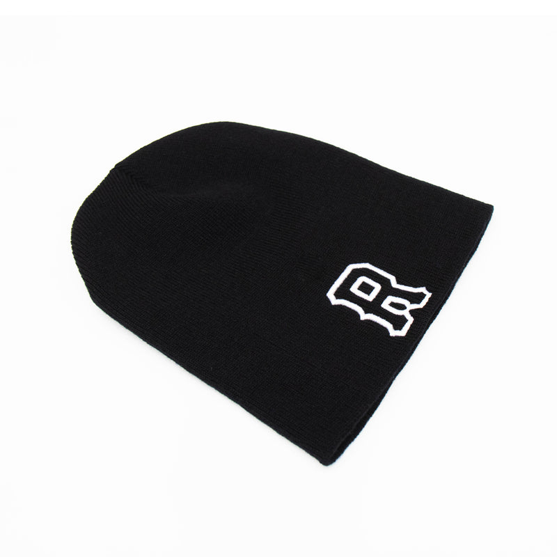 Fundamentals Embroidered Beanie [BLACK]