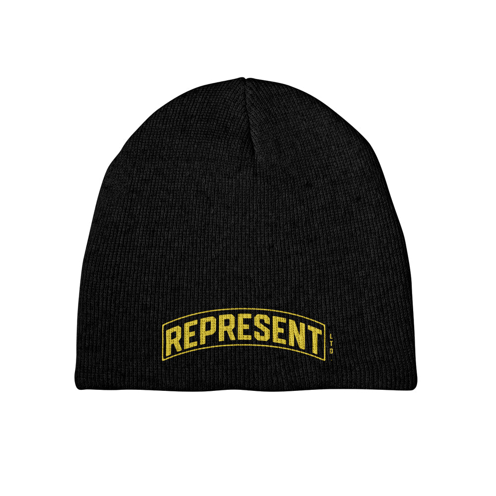 Frontline Soldiers Embroidered Beanie [BLACK]
