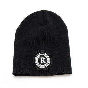 Never Established Patch Beanie [BLACK]