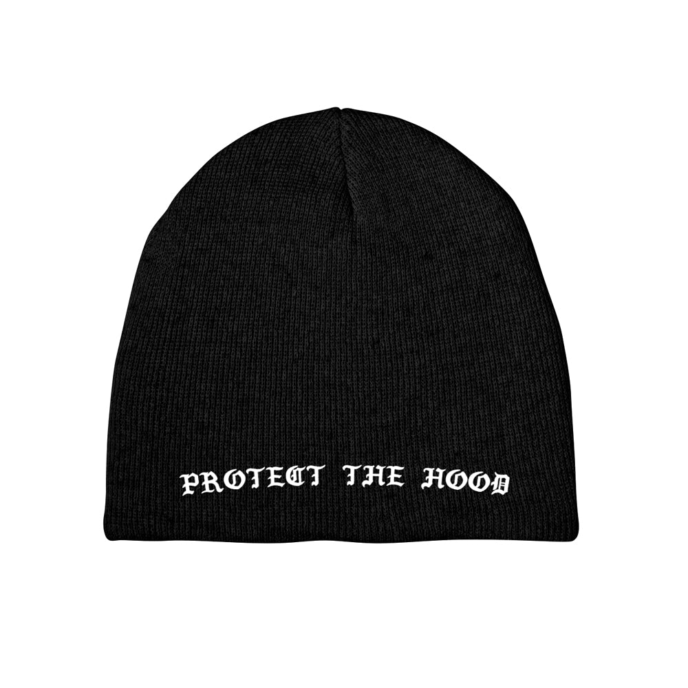 Protect The Hood VNDTA Collab Beanie [BLACK] LIMITED EDITION