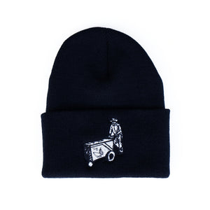 Protect The Hood VNDTA Collab Cuff Beanie [BLACK] LIMITED EDITION
