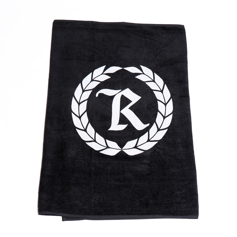 Represent Logo Beach Towel [BLACK]