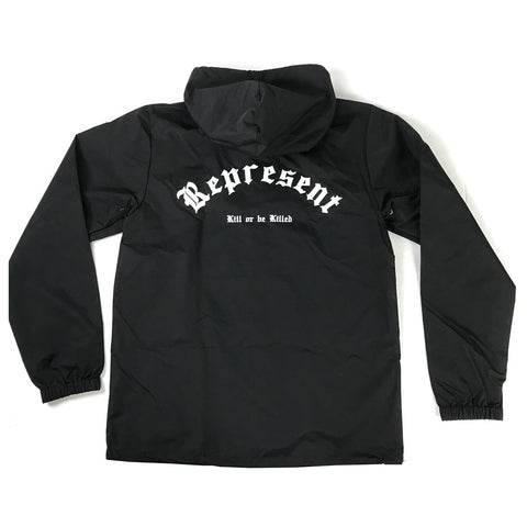 Lucky Premium Water Resistant Windbreaker [BLACK]