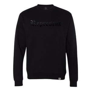 Original Classic Blacked Out Crewneck Sweatshirt [BLACK X BLACK]