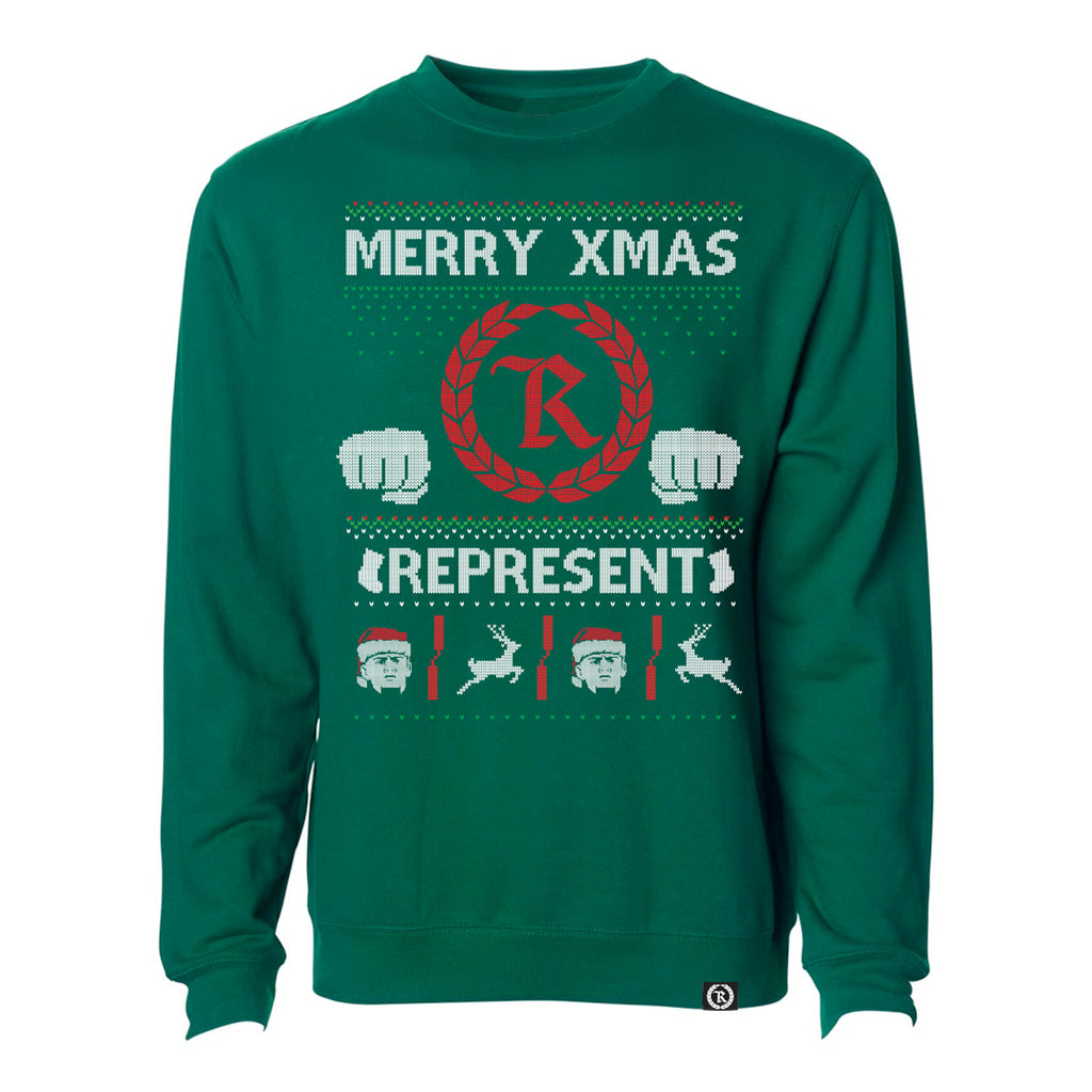 Ugly Xmas Crewneck Sweatshirt [GREEN]