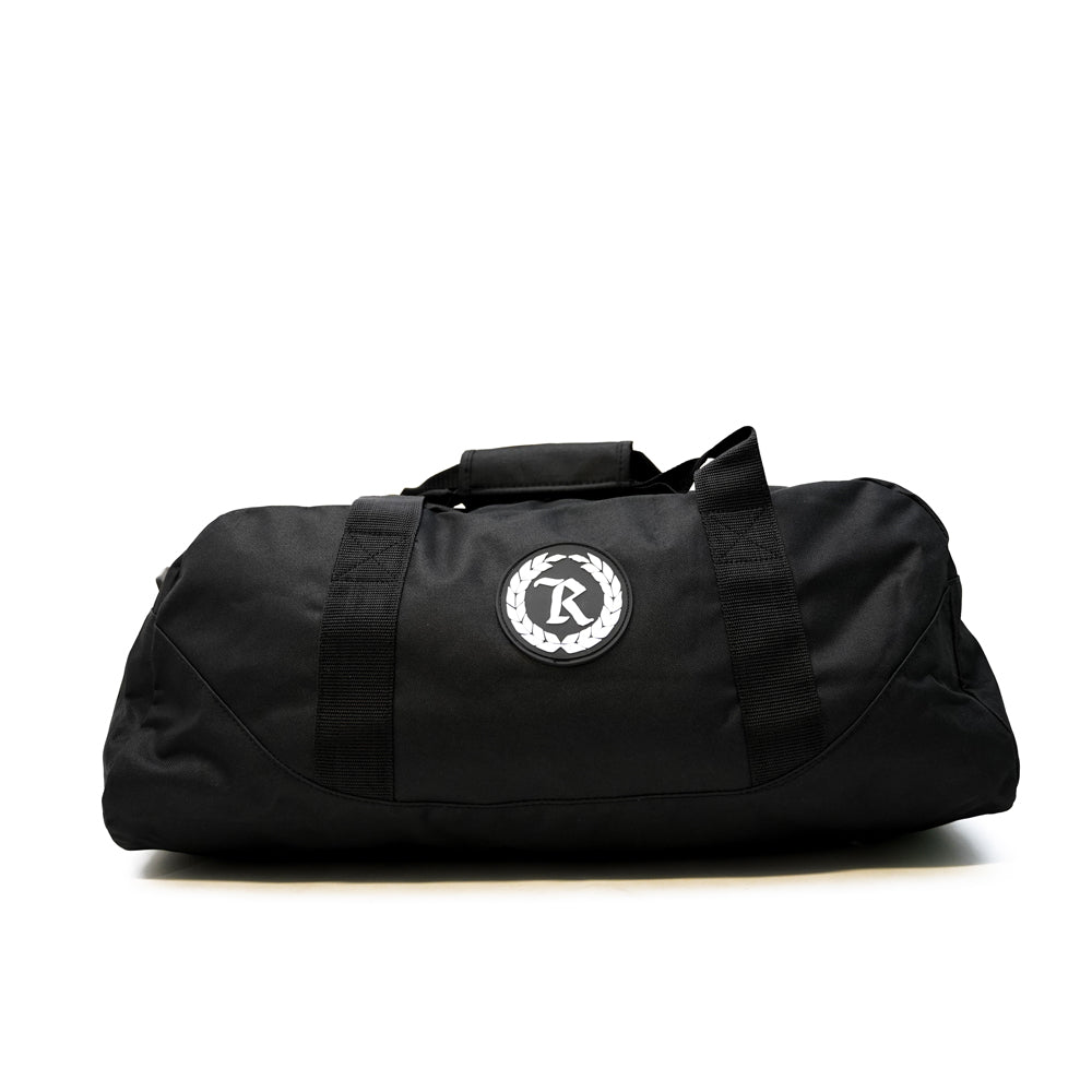 Always Represent PVC Silicone Rubber Patch Duffel Bag [BLACK X WHITE]