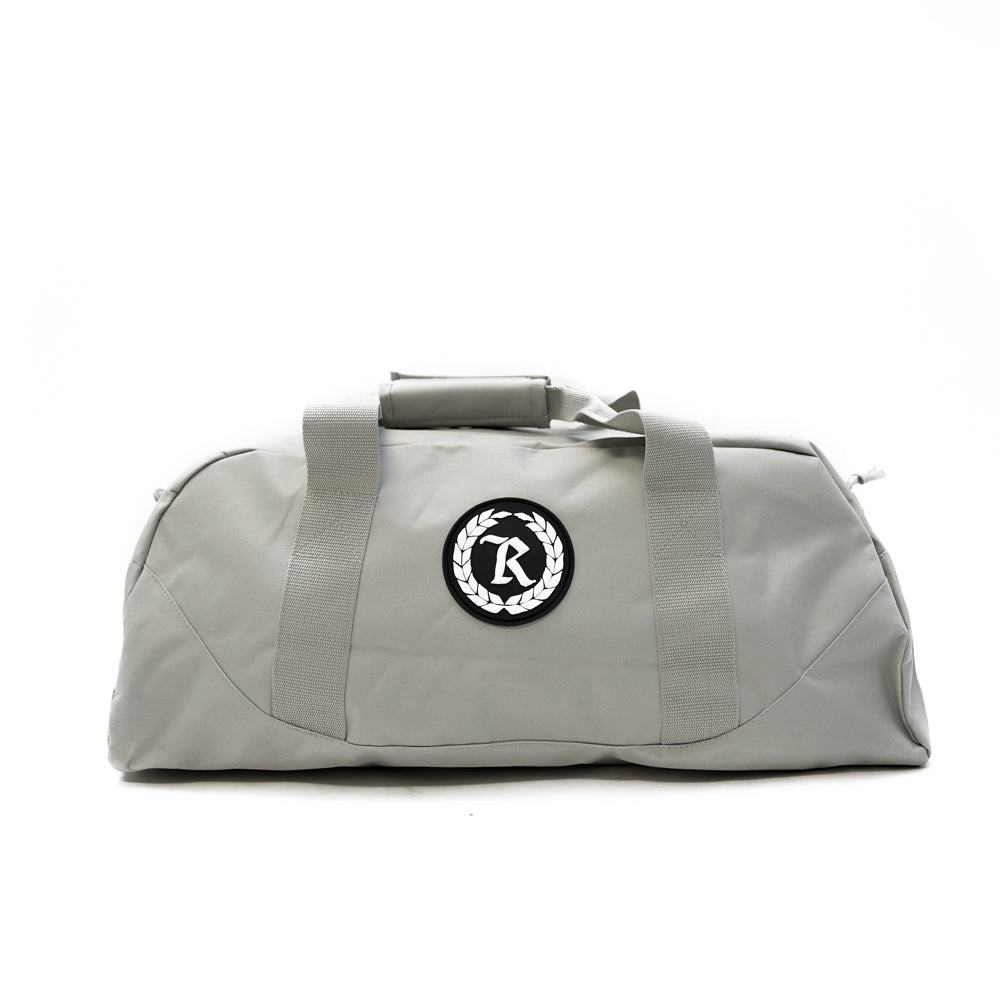 Always Represent PVC Silicone Rubber Patch Duffel Bag [LT. GRAY X BLACK]