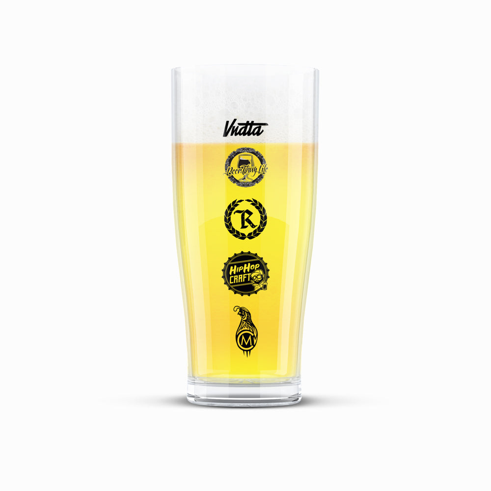 Protect The Hood Craft Beer Glass 16OZ. (444mL) [GLASS] LIMITED EDITION
