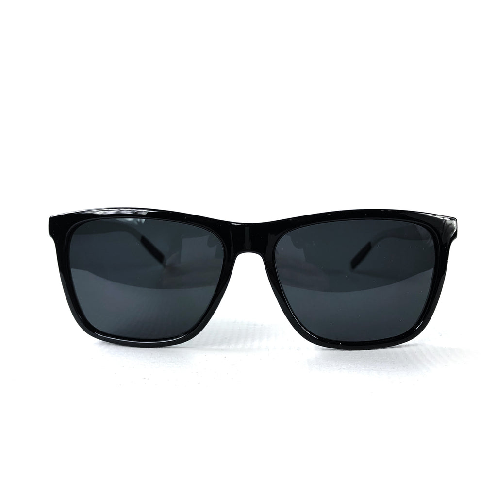 AKZ Represent Polarized Sunglasses [BLACK W/ SILVER]