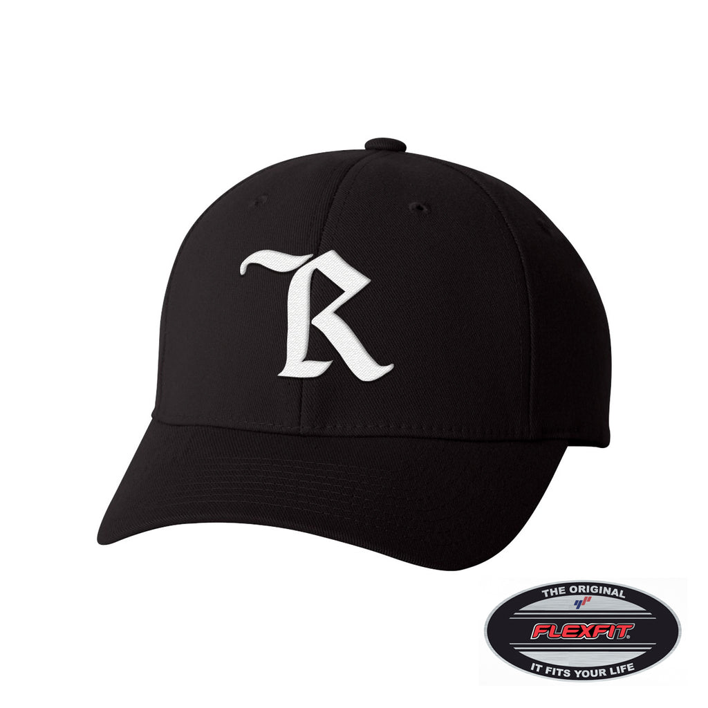 Classic Flexfit Curved Bill Cap [BLACK]