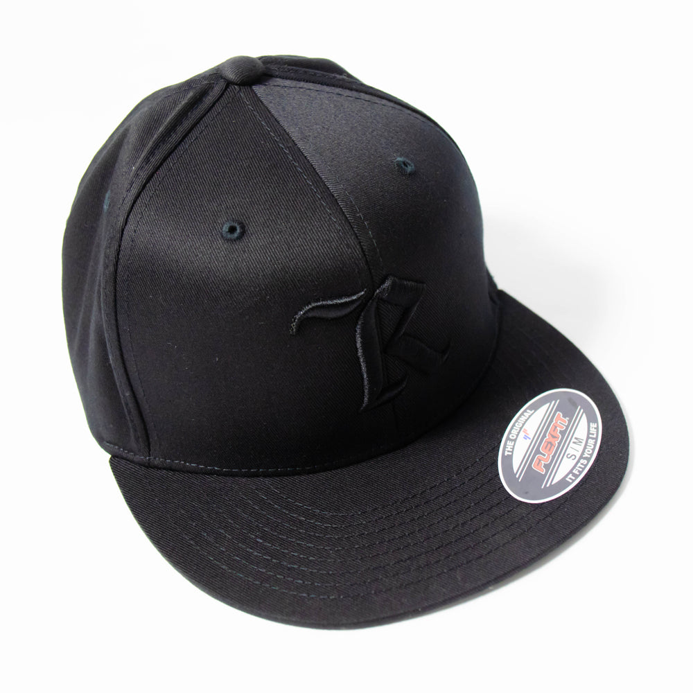 Classic Flexfit Pro On-Field Baseball Cap [BLACK X BLACK]