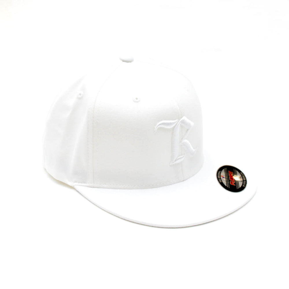 Classic Flexfit Pro On-Field Baseball Cap [WHITE X WHITE]
