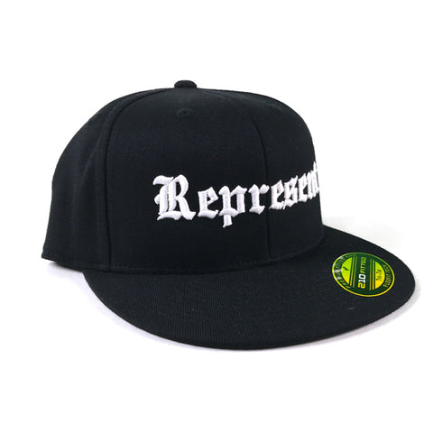 Lucky Premium Fitted Hat (Black)