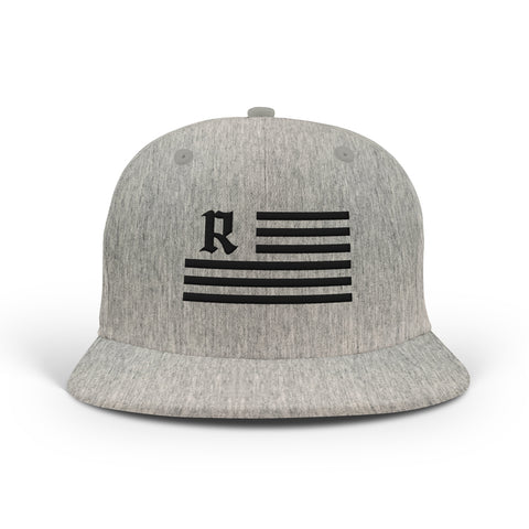 Ole Medieval Flag Snapback [HEATHER GRAY]