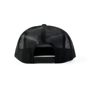 Never Established Patch Trucker Hat [BLACK]