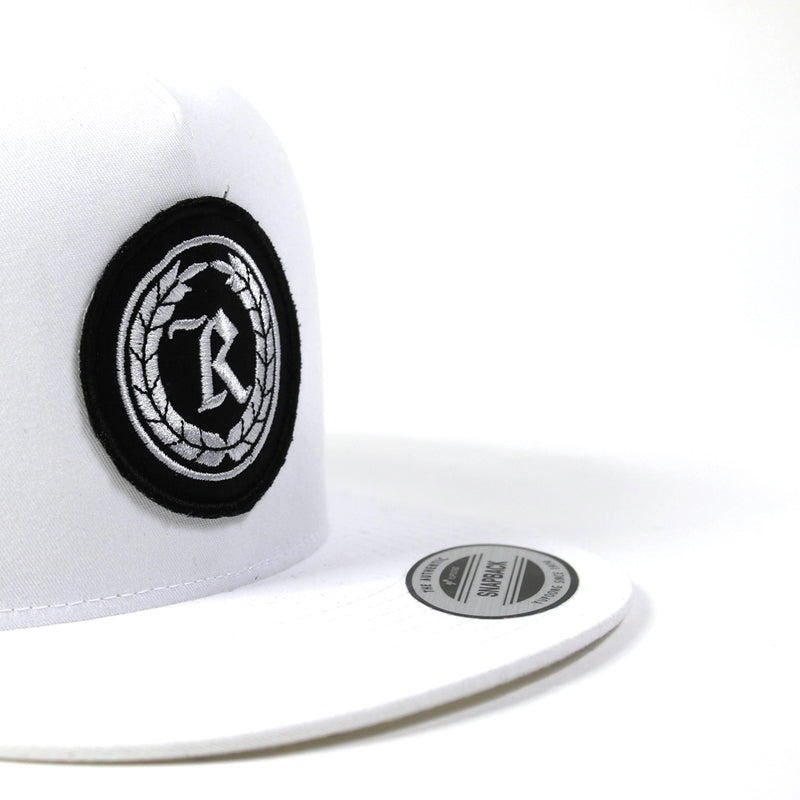 Never Established Patch Trucker Hat [WHITE]