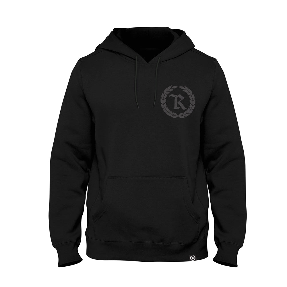 The Original Gang Blacked Out HD Imprint Midweight Pullover Hoodie [BLACK X BLACK] COLLECTOR'S EDITION