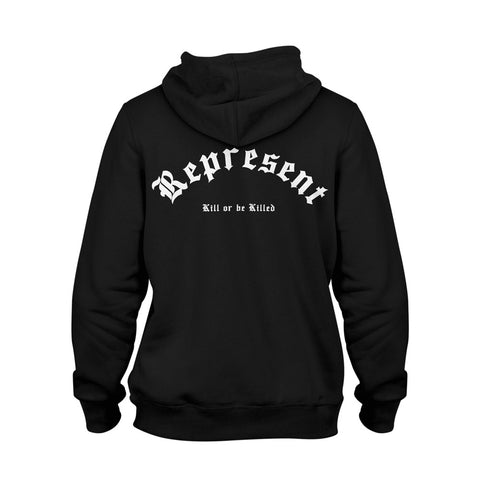 Lucky Premium Pullover Hoodie [BLACK]