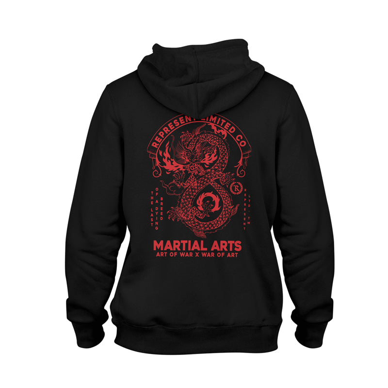 Art of War X War of Art Premium Midweight Hoodie [BLACK]