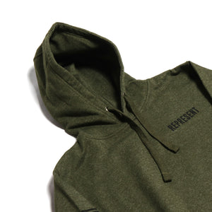 Military Grade Heavyweight Pullover Hoodie [ARMY GREEN]