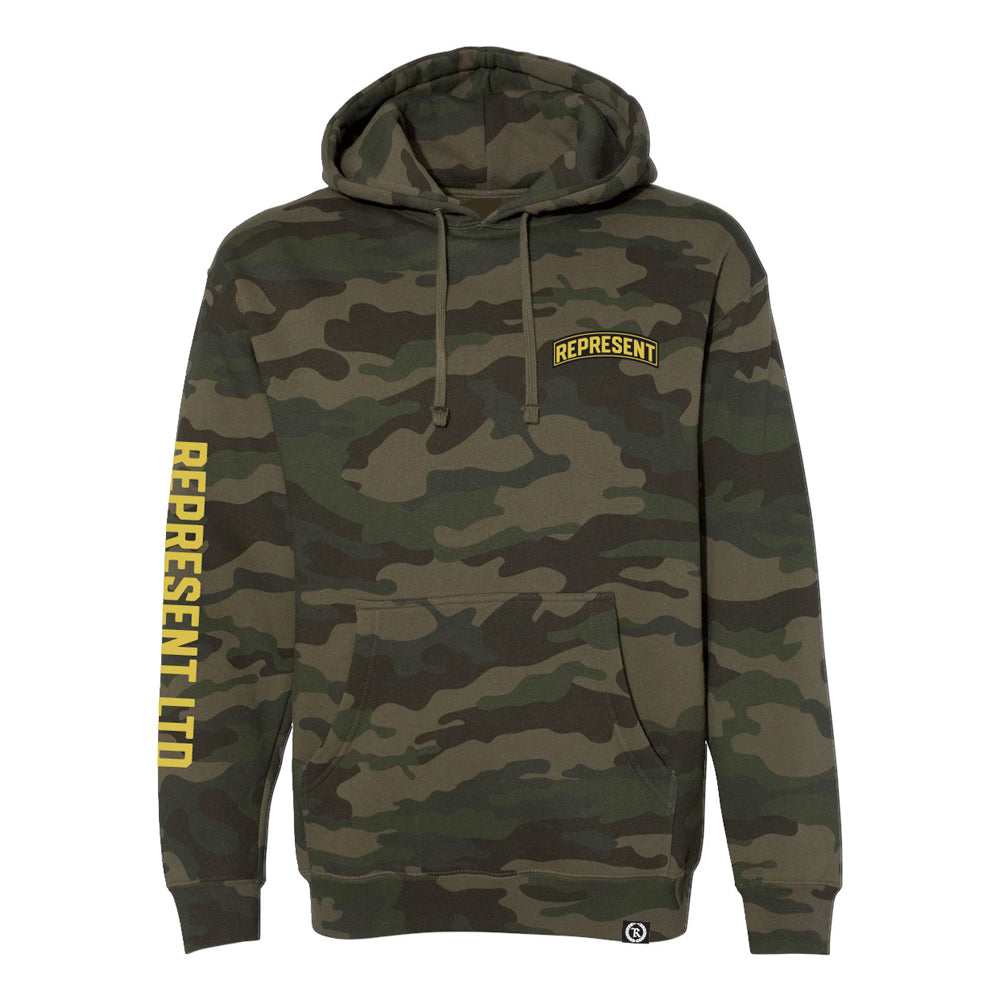 Air Born Heavy Pullover Hoodie [FORREST CAMO]