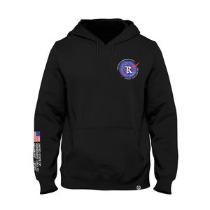 Just Left Houston Heavy Pullover Hoodie [BLACK]
