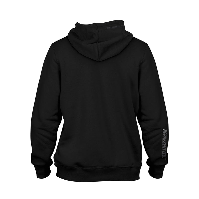 Black Gang (Blacked Out) Midweight Hoodie [BLACK X BLACK]