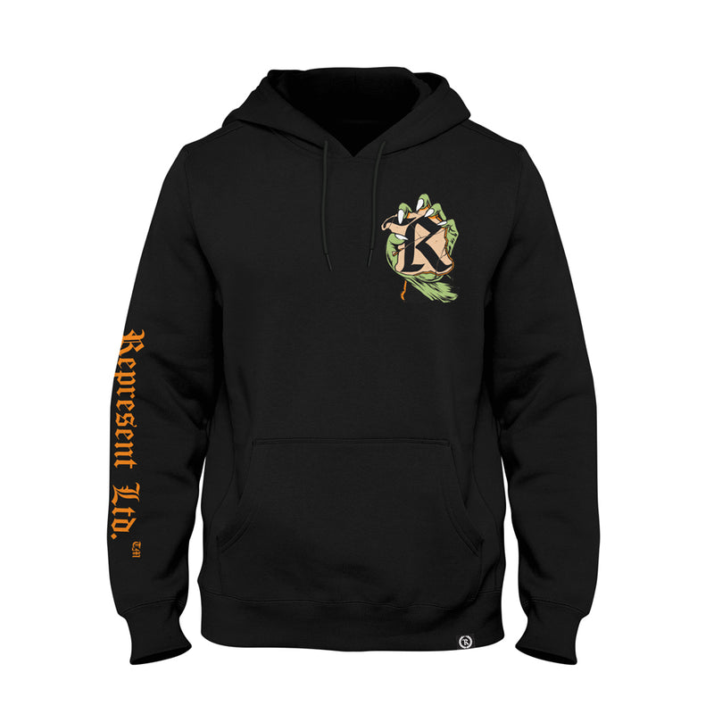 Break On Through Glow In The Dark Heavyweight Pullover Hoodie [BLACK] LIMITED EDITION