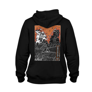 Way of the Ninja Showdown Heavyweight Pullover Hoodie [BLACK] LIMITED EDITION