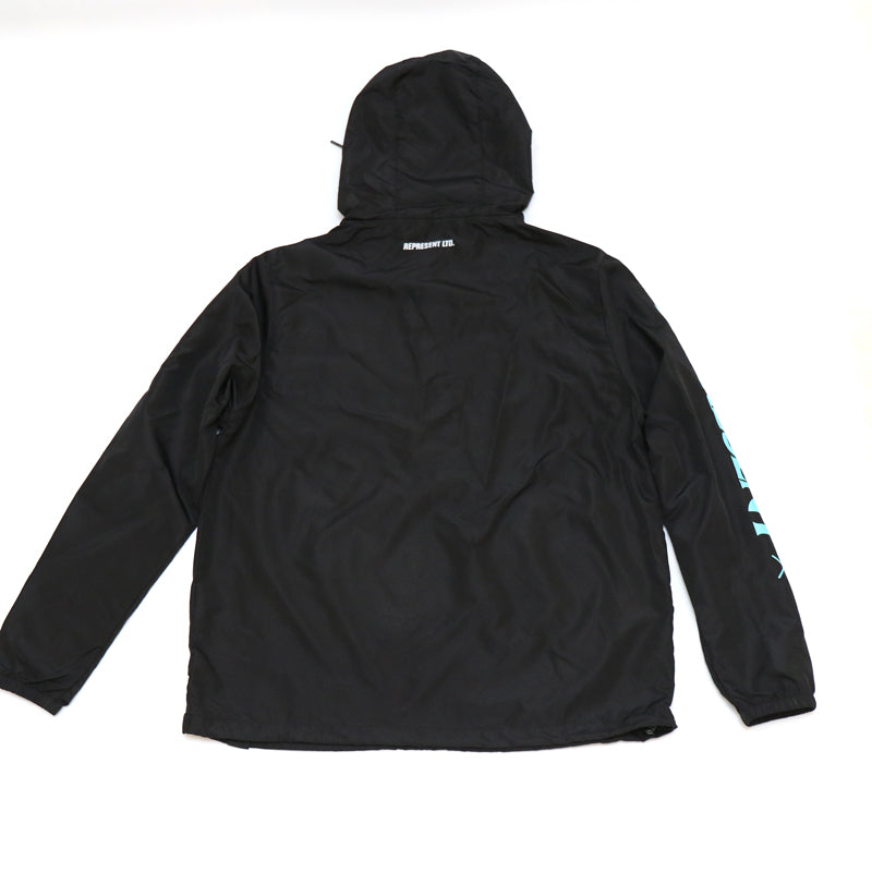 Bad Habits Light Windbreaker Pullover Jacket [AQUA MINT]