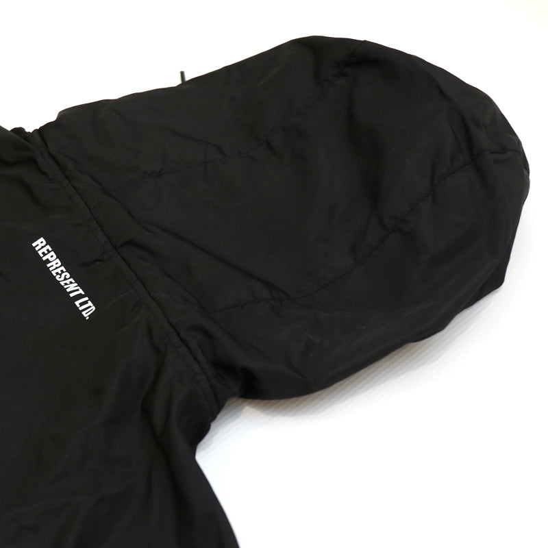Bad Habits Light Windbreaker Pullover Jacket [BW]