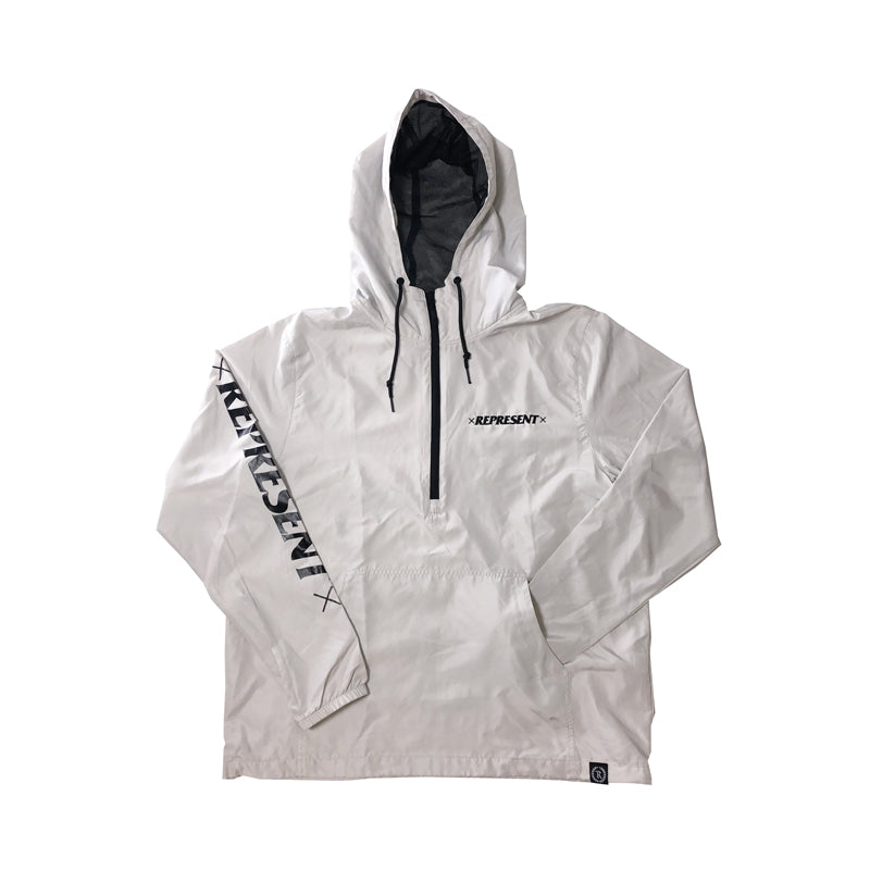 Bad Habits Light Windbreaker Pullover Jacket [WHITE]