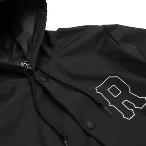 Fundamental Water Resistant Rain Jacket [BLACK]
