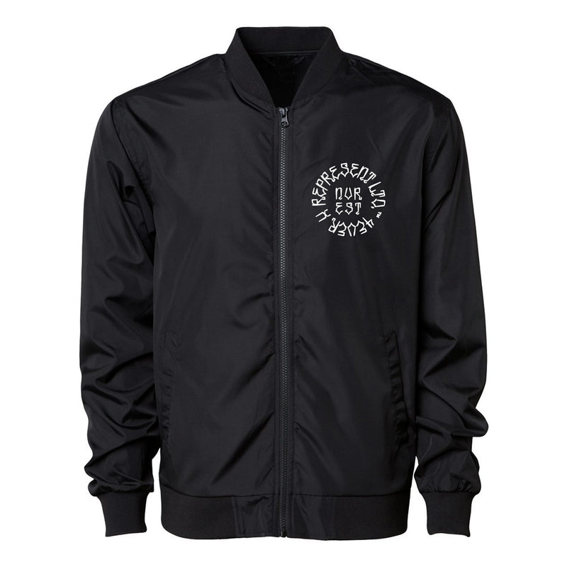 Made In California Lightweight Bomber Jacket [SOLID BLACK]