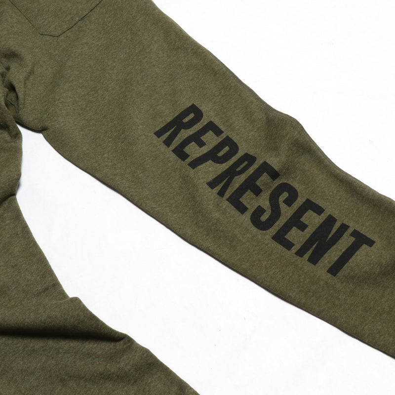 Military Grade Joggers [HEATHER ARMY GREEN]