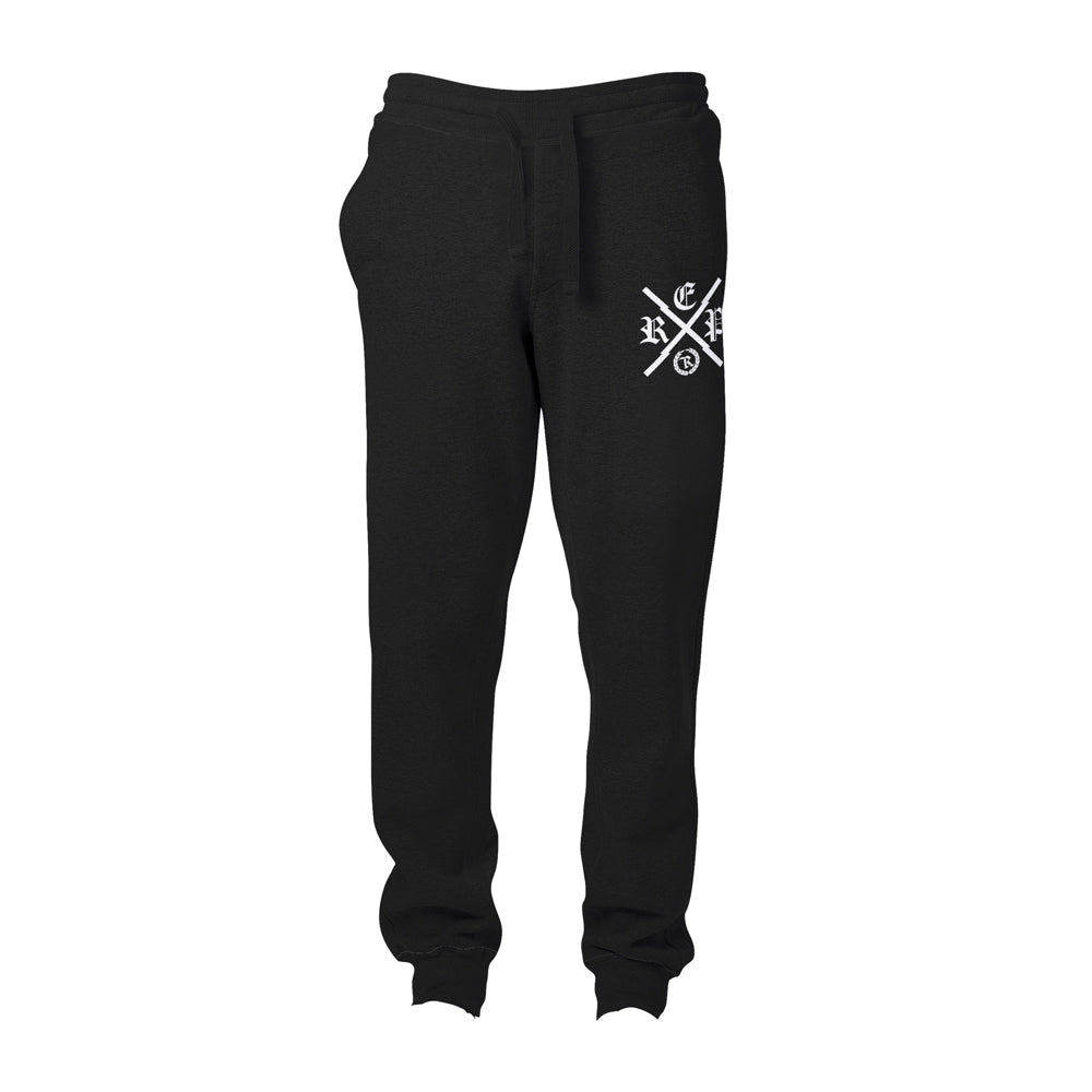 Made X Real Ones HD Imprint Patch Joggers [BLACK X WHITE] LIMITED X EDITION