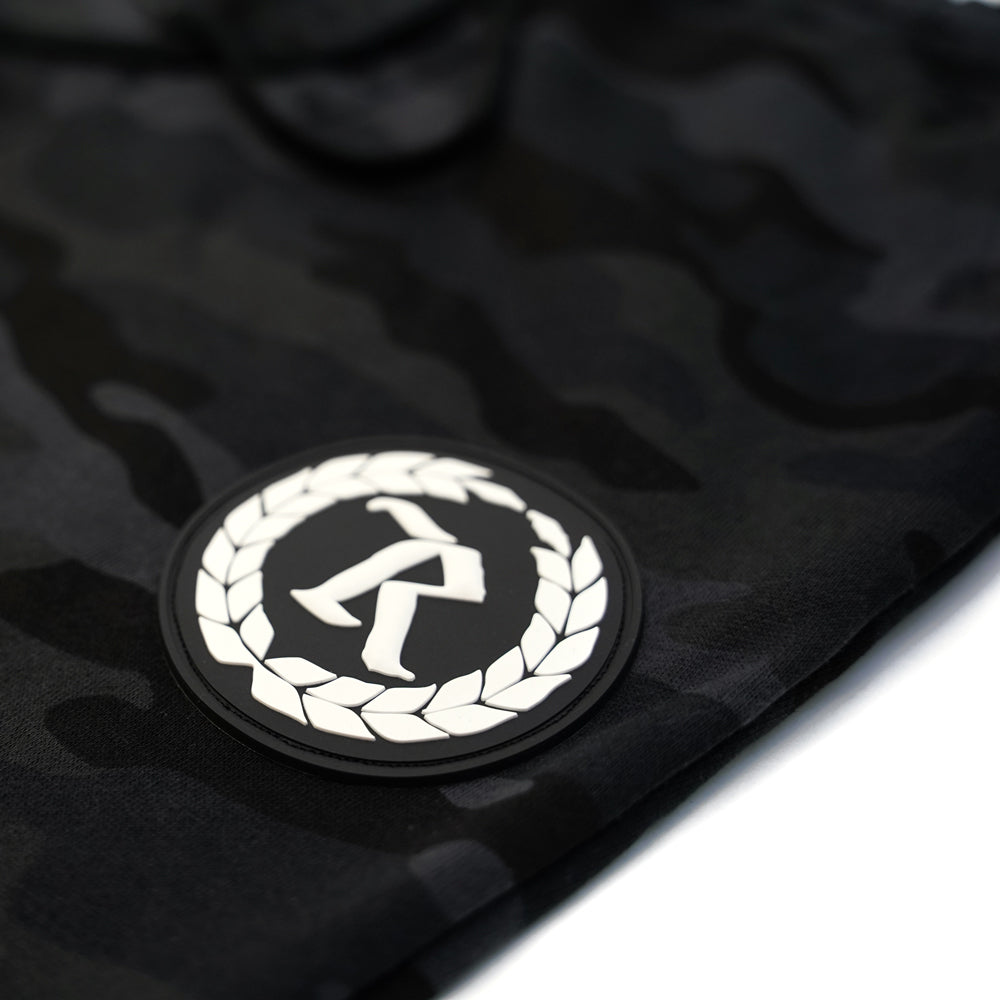 Always Represent PVC Rubber Silicone Patch Joggers [BLACK CAMO] LIMITED EDITION