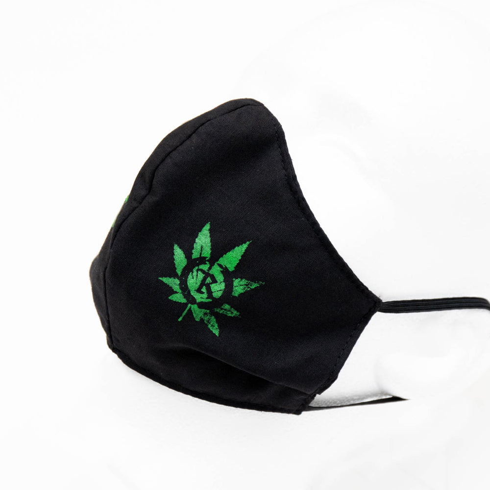 4:20 Twenty Twenty Capsule Cloth Sanitary Mask [BLACK]