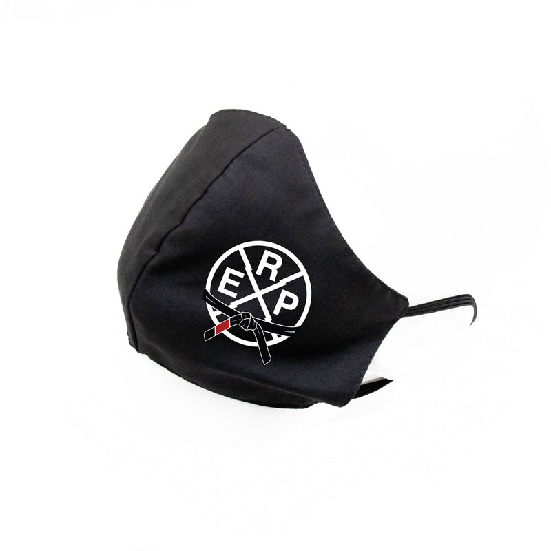 Industrial Strength Jiu Jitsu Cloth Sanitary Mask [BLACK]