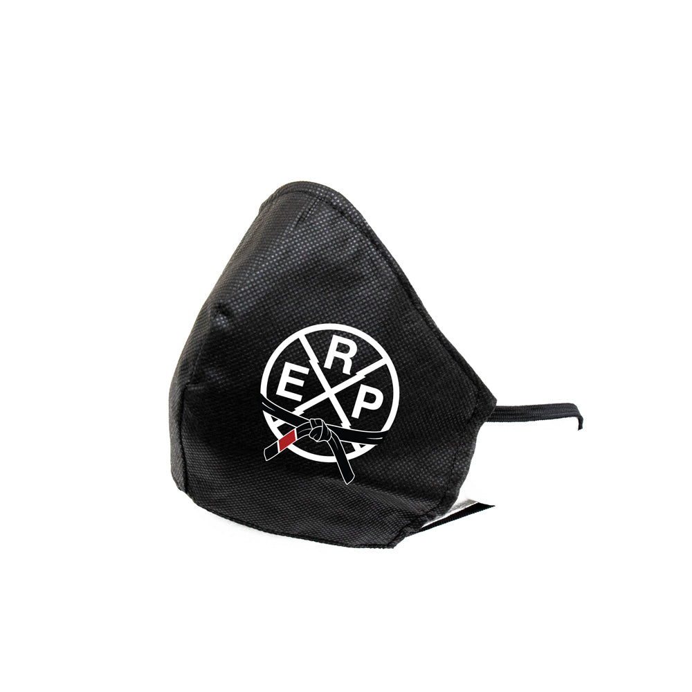 Industrial Strength Jiu Jitsu Dust Fiber Sanitary Mask [BLACK]