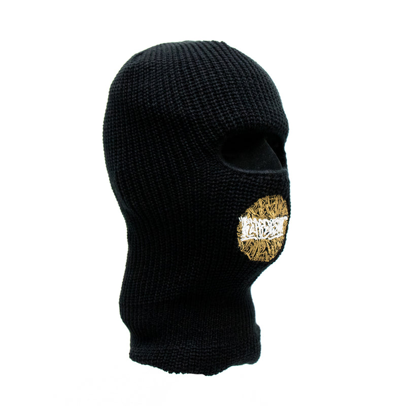 Look Alive Embroidered Ninja Tactical Mask [BLACK]