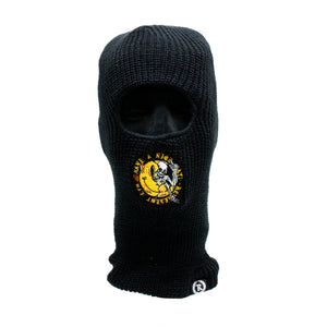 Have A Nice Day! Embroidered Ninja Tactical Mask [BLACK]