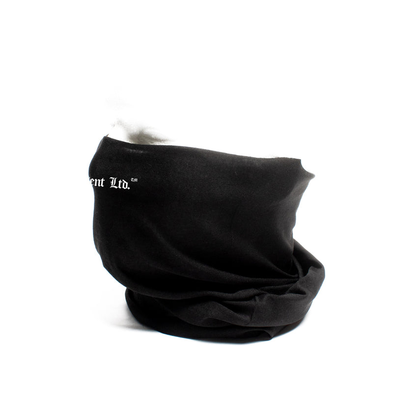 Stay Real Gaiter Neck Covering & Face Mask [BLACK] BW