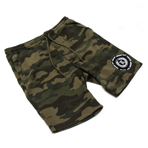 Never Established Patch Shorts [FOREST CAMO]