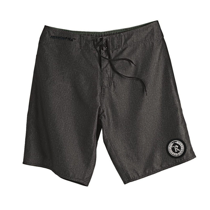 Never Established Patch Board Shorts [CHARCOAL HEATHER]