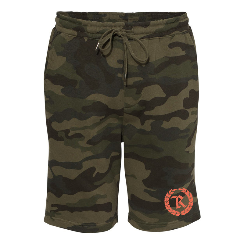 Rough 'N' Rugged Monogram Shorts [FOREST CAMO]