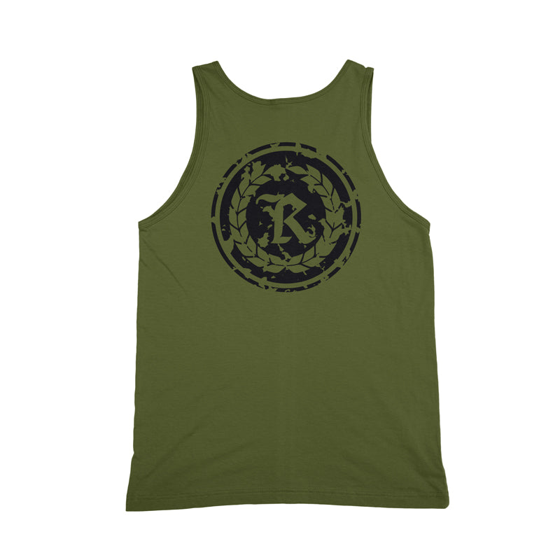 War Ready Military Green Tank Top